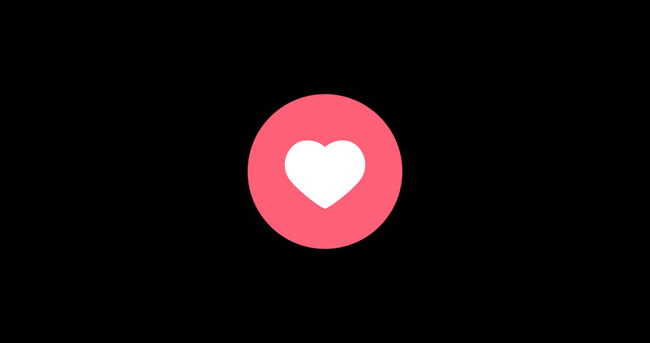 Stock Video Of Heart Icon Popping Animation 29845945 Shutterstock
