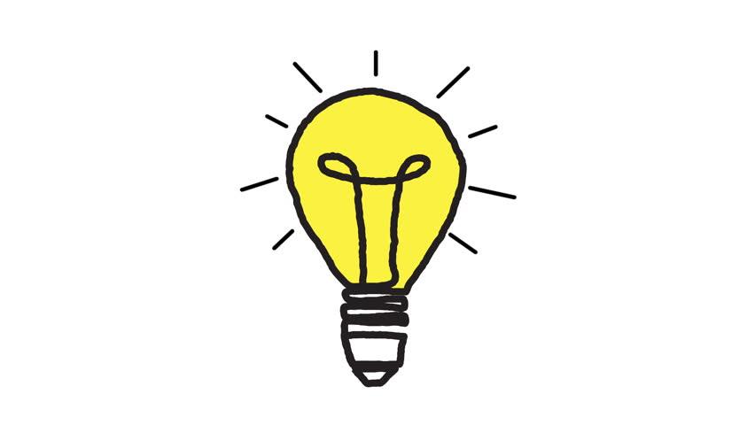 Light bulb animation