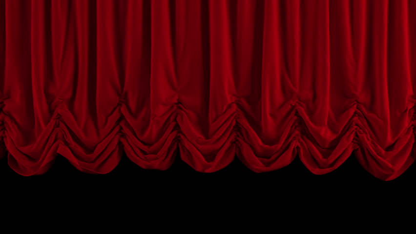 Red Stage Curtain. High Quality Computer Animation. Stock Footage Video  2998174 | Shutterstock