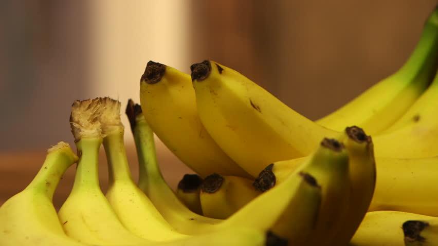 Header of banana