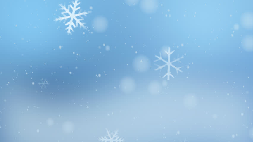 the background of snow flare falling for christmas theme