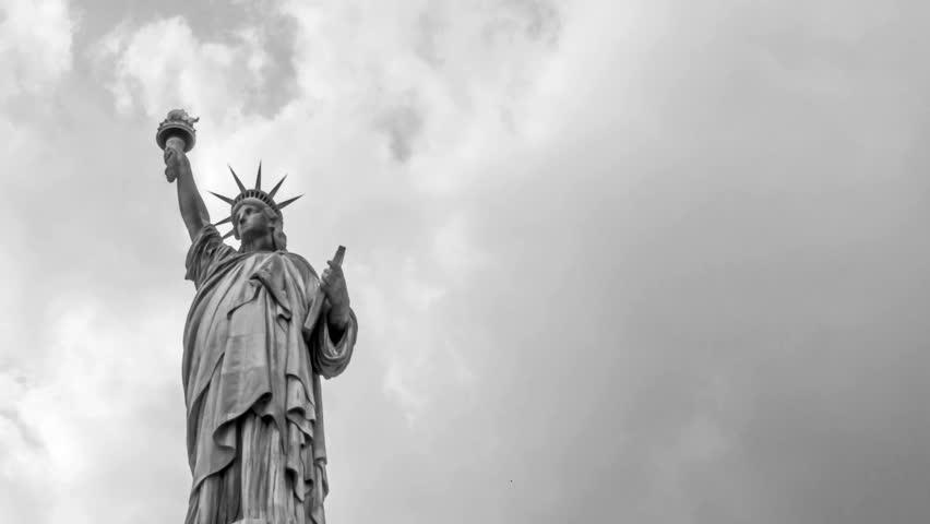 Statue of Liberty Vintage Look | Shutterstock HD Video #3004015