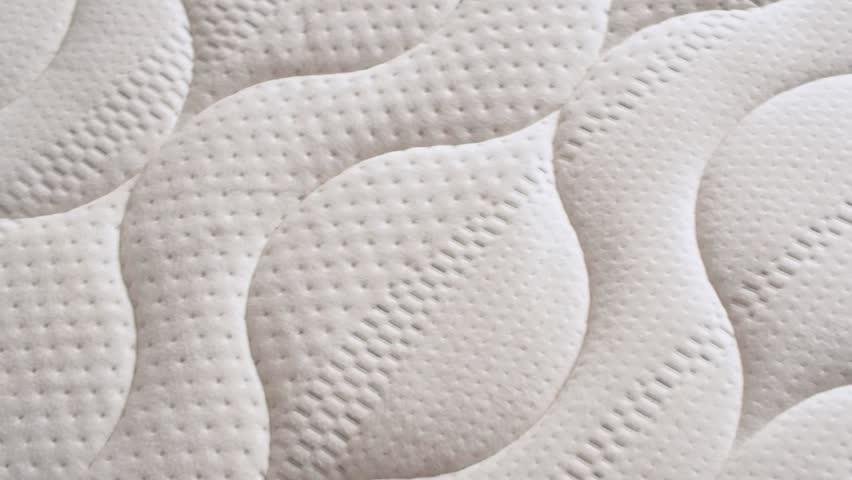 Close-up texture of a mattress