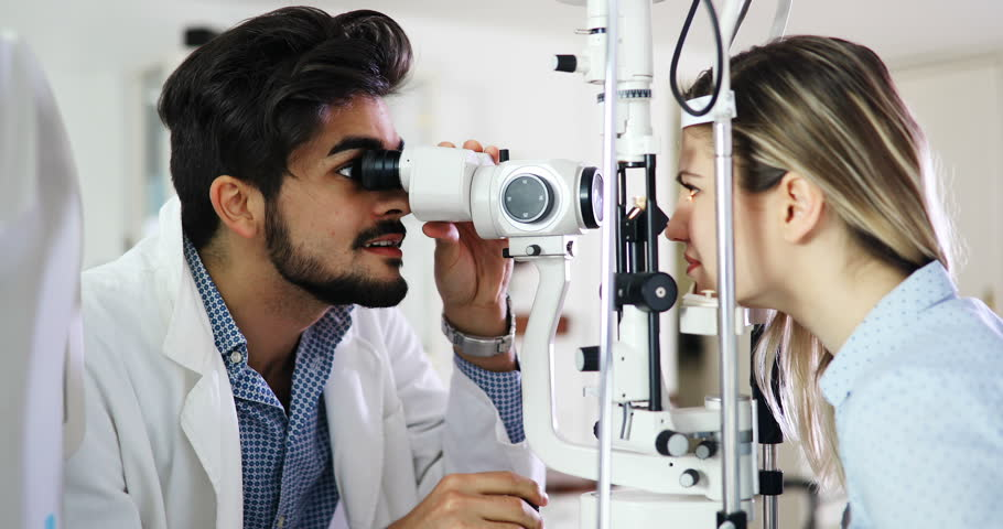 Ophthalmology Concept  Patient Eye Vision Stock Footage Video (100%  Royalty-free) 30062395 | Shutterstock