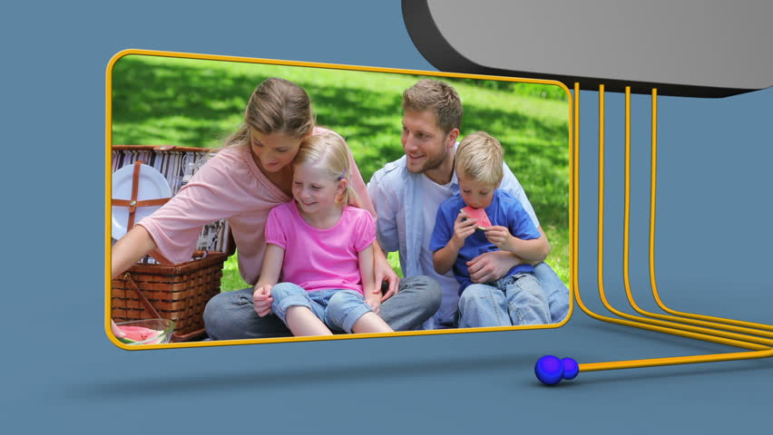 Animation of family | Shutterstock HD Video #3040045