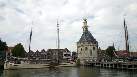 Head tower at the port of Hoorn