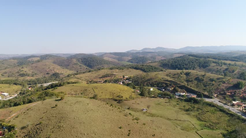 Aerial of a Brazilian Countryside by Drone | Shutterstock HD Video #30597985