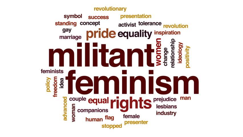 Header of feminism