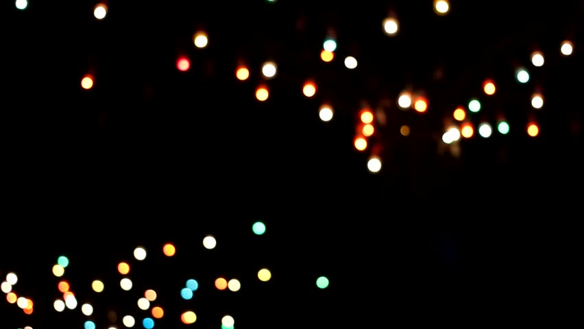 Abstract Blurred Christmas Lights Bokeh full Stock Footage Video (100%  Royalty-free) 30764725 | Shutterstock