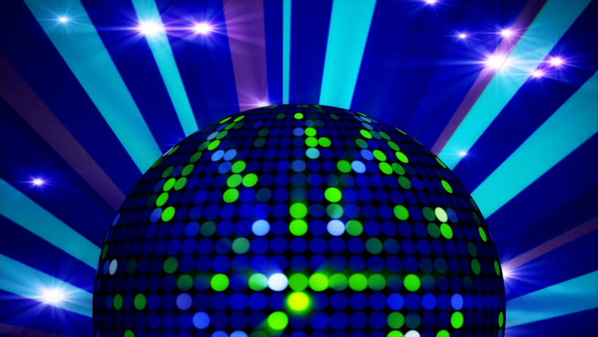 4k Looped Disco Ball With Lights Vj Dj Party Background For Your Musical Projects