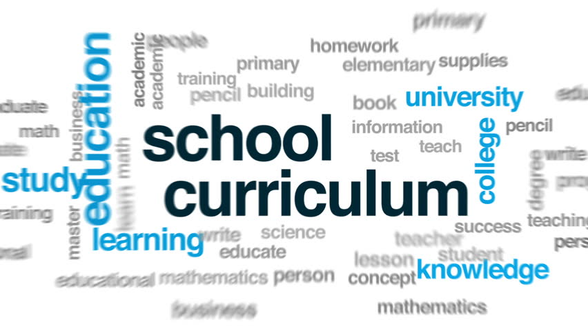 Header of curriculum