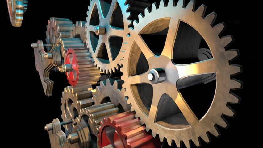 Header of gear mechanism