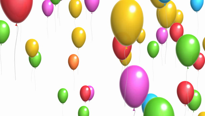 Animation Of Colorful Confetti Falling Stock Footage Video