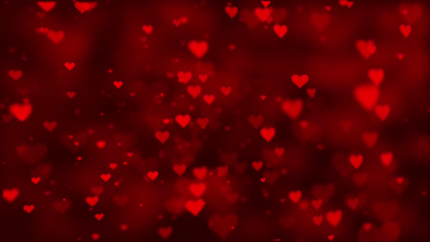 Bokeh Heart Shape Of Light Background Stock Footage Video: Set Of Loop-able Clips Presenting Heart Shape Bokeh