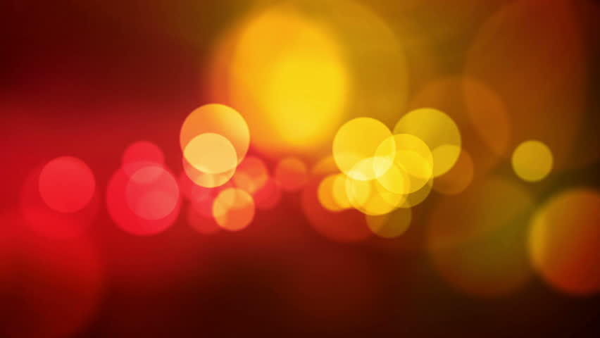 animated screen saver golden color with a flash and back focus