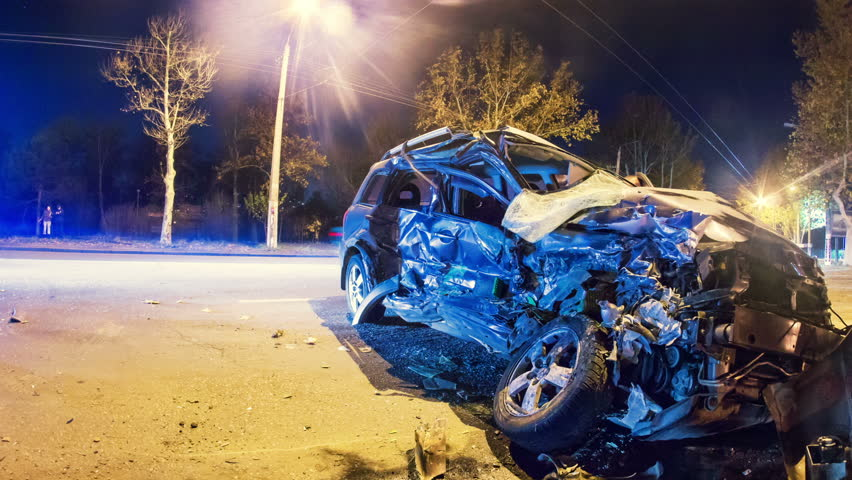 Traffic Accident Stock Footage Video | Shutterstock
