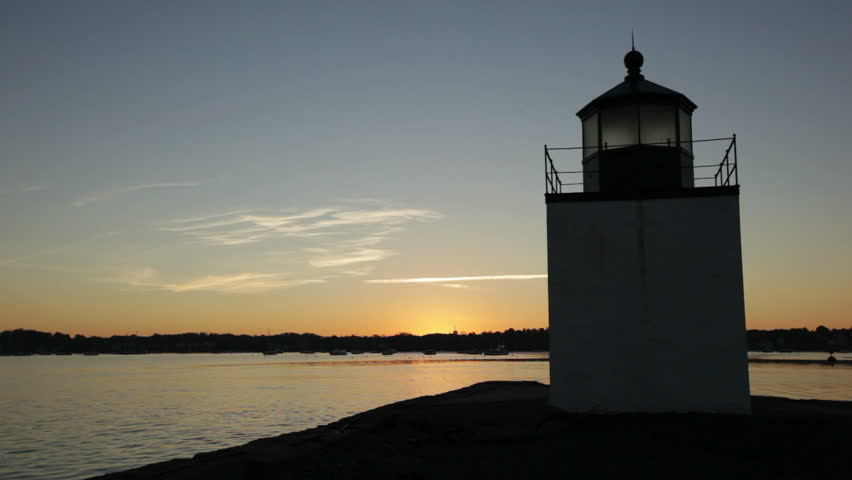 Derby lighthouse in Salem, Massachusetts