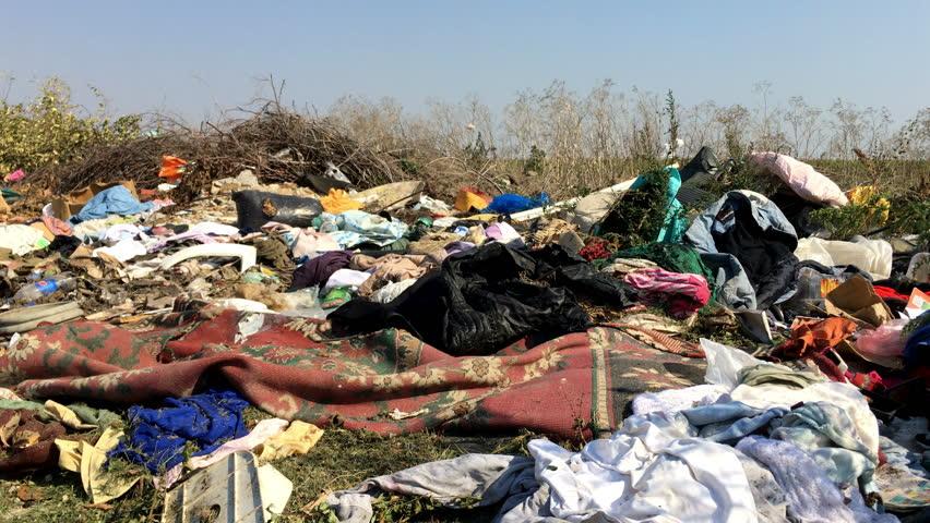 Illegal Dumping Clothes | Shutterstock HD Video #31514005