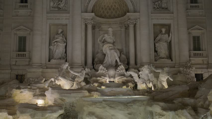 Trevi Fountain is Baroque fountain in Trevi district in Rome, Italy, designed by Italian architect Nicola Salvi and completed by Pietro Bracci. It is one of most famous fountains in world.