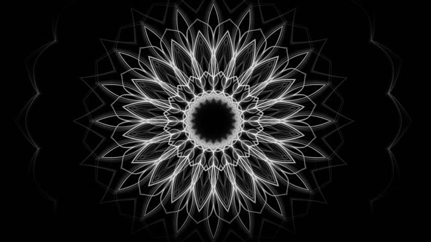 floral ornament pattern - seamless bakground (FULL HD)