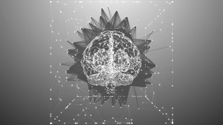 Computer brain mind design for AI artificial intelligence learning | Shutterstock HD Video #31707625