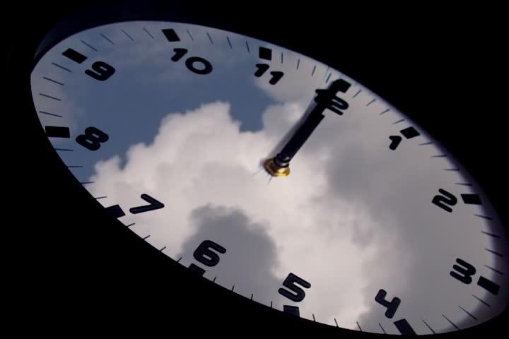 Clock in time-lapse loop   Shutterstock HD Video #317155