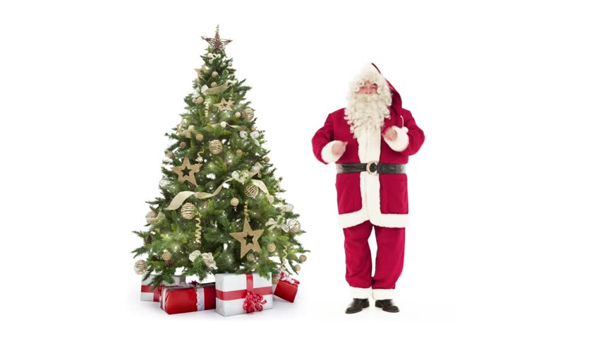 Lights Decorated Xmas Tree With Stock Footage Video 100 Royalty Free 31718035 Shutterstock