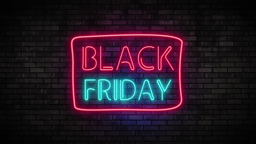 Black Friday Neon Light On Stock Footage Video (100% Royalty-free) 31787275  | Shutterstock