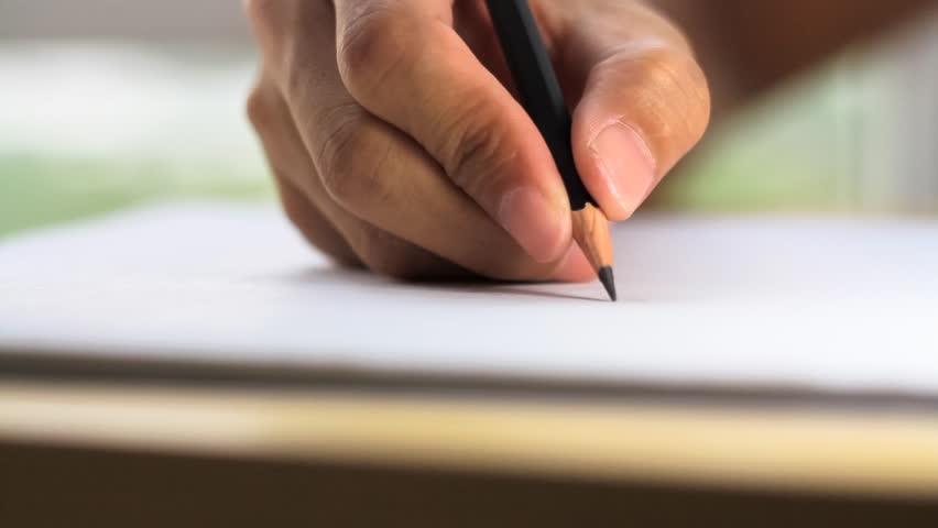Resultado de imagem para writing with a pencil