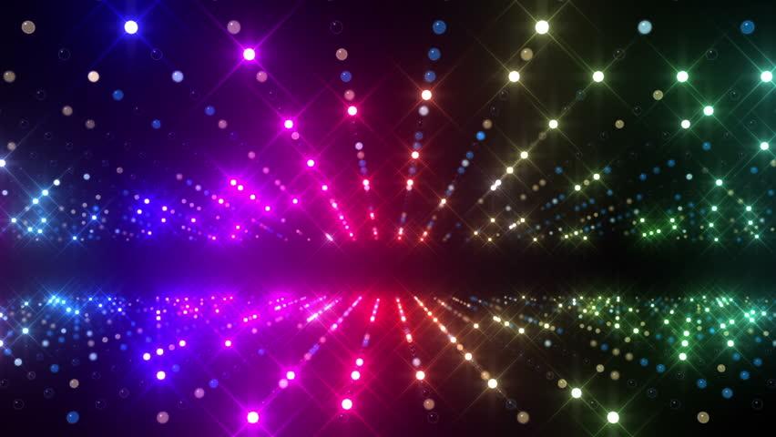 LED Light wall. | Shutterstock HD Video #3184435