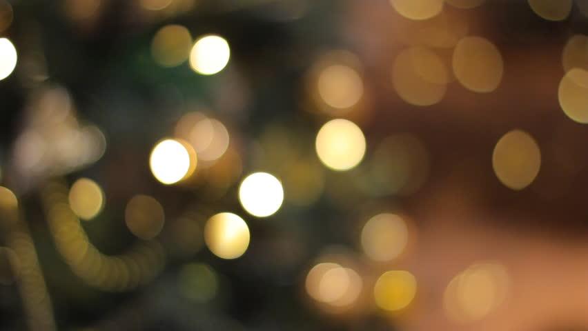 Colorful bokeh of christmas lights | Shutterstock HD Video #3184660