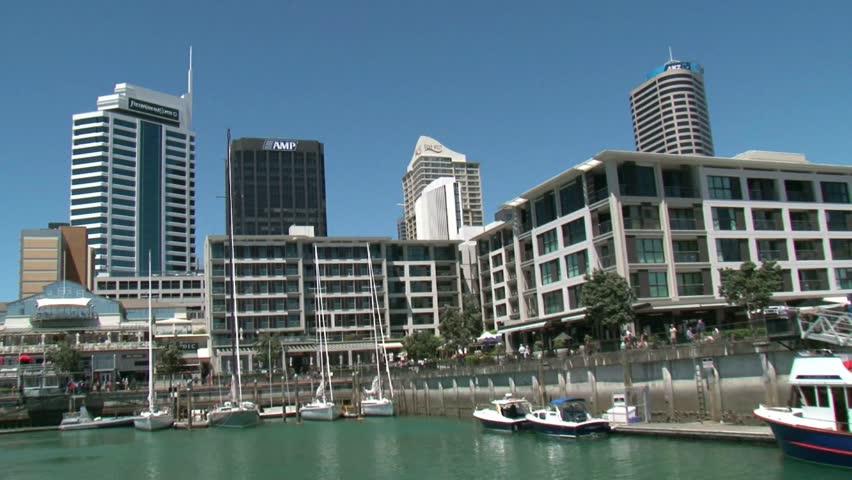 Christchurch Hd: Christchurch New Zealand Stock Footage Video