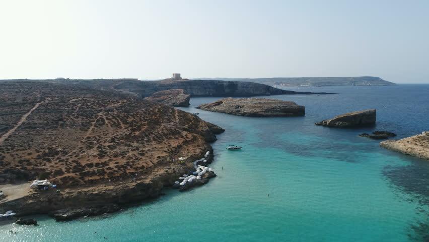 Comino Malta Drone Forwards