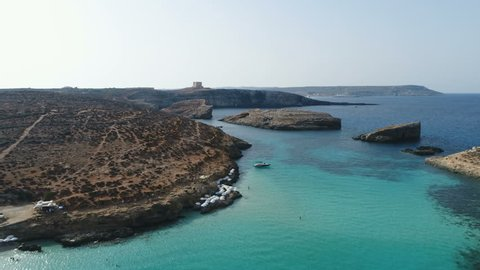 Comino Malta Drone Forwards