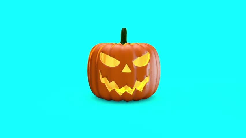 Halloween Pumpkin Explosion Slow Motion 3D Rendering Animation | Shutterstock HD Video #31923175