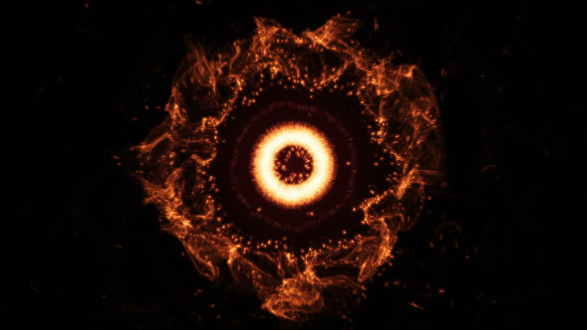 Abstract space or time travel concept background, intergalactic exploration supernova. Burst of Energy, fire, plasma. Graphical Resource