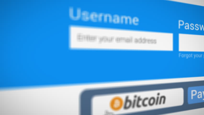 Buy bitcoin typing password and click button on monitor screen logo pay bitcoin button typing password on monitor screen logo animation 4k stock video clip ccuart Gallery