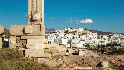 4K Timelapse at Naxos Island, Cyclades, Greece Naxos09