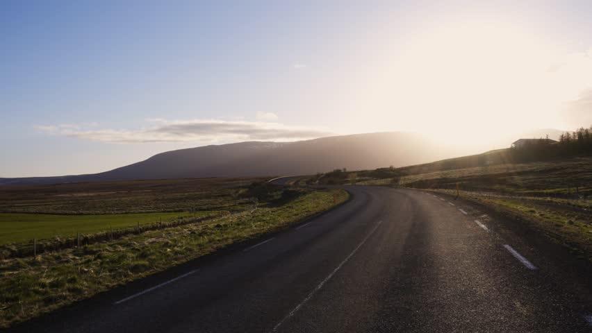 Beautiful road in a national park | Shutterstock HD Video #32244745