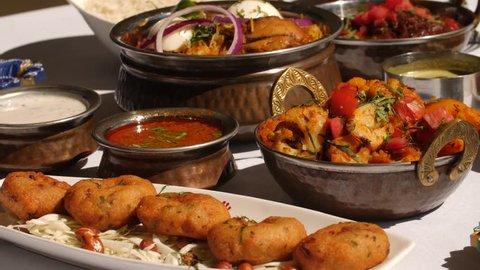 Indian Food Indian Restaurant chef preparing masala food in a hotel or restaurant.