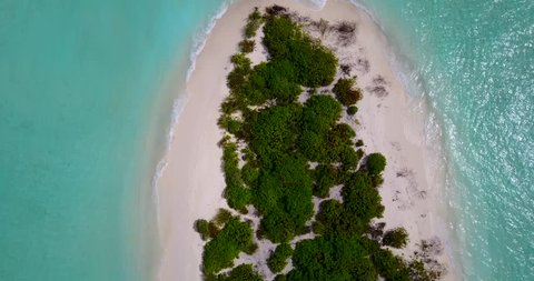 v13663 maldives white sand beach tropical islands with drone aerial flying birds eye view with aqua blue sea water and sunny sky