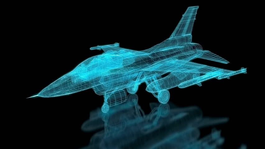 Jet Fighter Aircraft  Mesh. Part of a series.