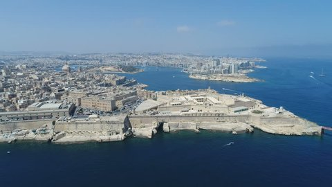 Malta Valleta Drone 1