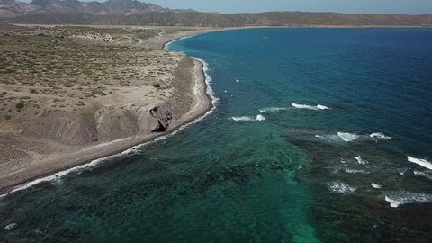 La Paz San Jose del Cabo Baja California Sur Mexico aerial view