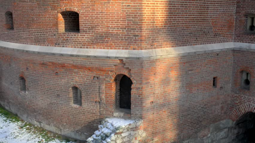 krakow barbican on basztowa street is barbican fortified outpost once connected to city walls