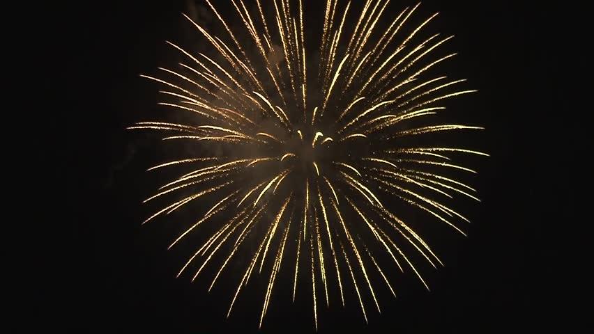 New Year celebration fireworks | Shutterstock HD Video #3262435