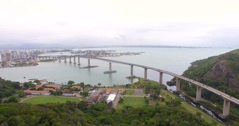 Bridge linking Vitória da Conquista to Vila Velha at Brazil