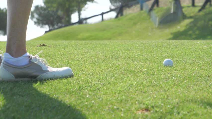 Header of golf shot