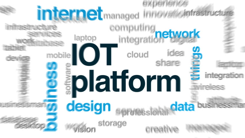 Iot Platform Animated Word Cloud, Stock Footage Video (100% Royalty-free)  32834245 | Shutterstock