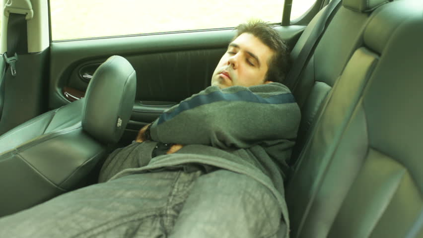 Sleeping In Car >> Sleeping In The Car Stock Footage Video 100 Royalty Free 3291065 Shutterstock